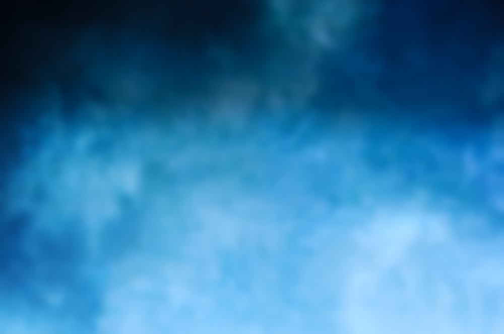 Blurry dark blue clouds